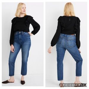 Madewell NWT The Momjean Comfort Stretch Edition